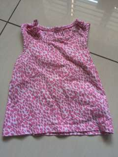 MOTHERCARE PINK SINGLET