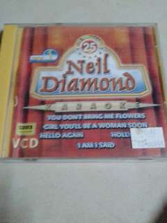 Neil Diamond English karaoke vcd