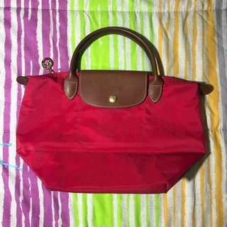 LONGCHAMP Red Small Le Pliage