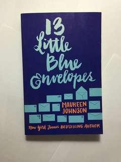 13 LITTLE BLUE ENVELOPES BOOK