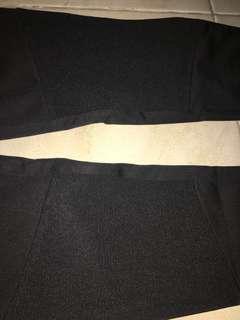 Celana kain high waist