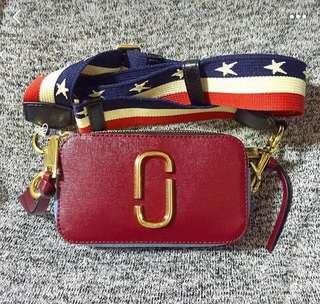 Marc jacobs sling red
