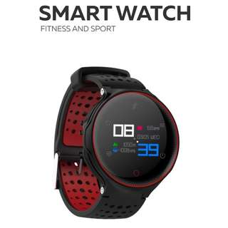[ 全防水 ] 彩Mon 智能手錶 Smart Watch- WHATSAPP ,WECHAT 信息顯示/來電顯示/血壓,心率監測/卡路里計算 /計步器/睡眠監測 IP68 防水 Fitness Tracker Heart Rate Sex Activity Monitor Pedometer X2 for iPhone Android