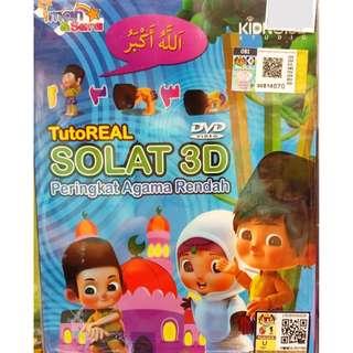 TutoReal Solat 3D Peringkat Agama Rendah DVD