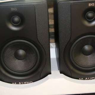 m audio bx5 monitor speaker