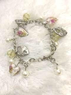 Charm Bracelet White