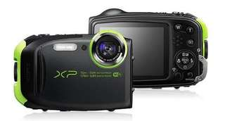 Fujifilm FinePix XP80 waterproof digital camera w/ 2.7 inch LCD