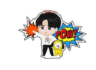 [PO] Jimin and Chimmy standee