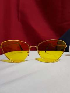 Liza Sunnies Yellow Lens 💕