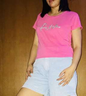 Abercrombie and Fitch pink soft blouse