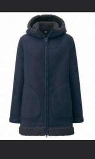 Uniqlo women pile fleece jacket