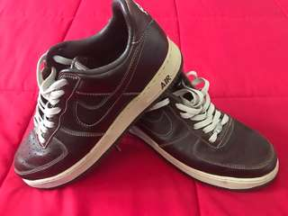 Nike Air Force One Premium Baroque Brown - brand new size US11