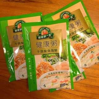 🚚 得意的一天 干貝柴魚海鮮健康粥 27包