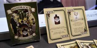 Hendrick Gin playing card 撲克牌 收藏牌