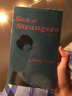 RUSH SALE! Sea of Strangers by Lang Leav