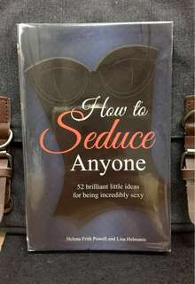 《New Book Condition + A Woman's Guide To Being Incredibly Sexy》Helena F. Powell & Lisa Helmanis - HOW TO SEDUCE ANYONE :  52 Brilliant Little Ideas for Being Incredibly Sexy