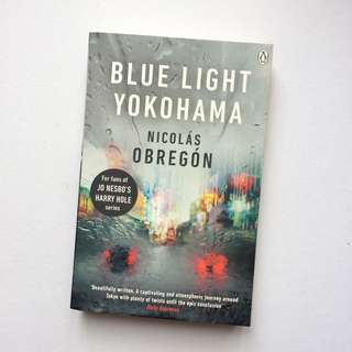 Blue Light Yokohama by Nicolás Obregón