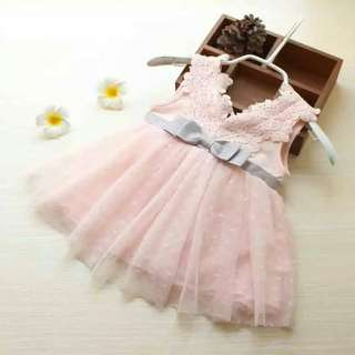 🚚 Lace embroidery tutu dress for party!
