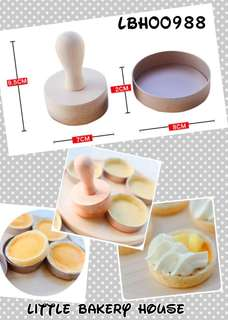 Bakery LBH00988 egg tart mold