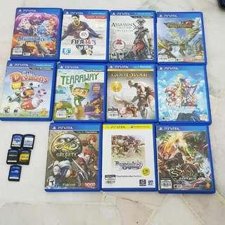 ps vita collection of games psvita psv