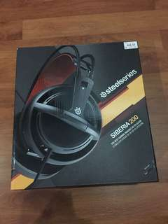 Gaming Headset Steelseries Siberia 200