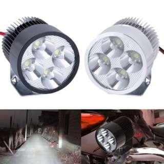 (522)12V-85V 20W Super Bright LED Spot Light Head Lamp Motor Bike Car Motorcycle