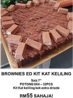 #winkuih Brownies ED Kit Kat Keliling