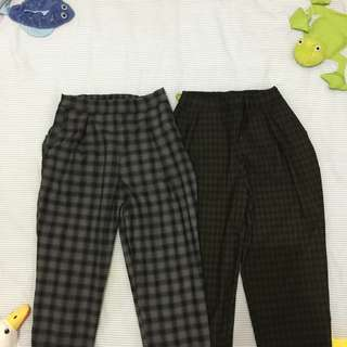 !!REPRICED!! Plaid trouser