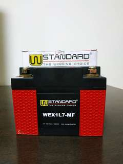 [Motorcycle Battery] W-Standard Lithium Battery WEX1L7-MF