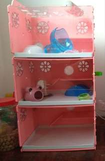 Hamster Cage / Acrylic Cage / Hamster House / Rumah Hamster 3 Tier