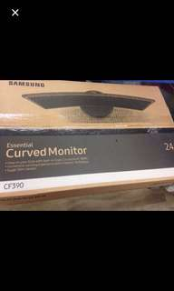 WTS Brandnew Samsung curved 24 c390f monitor 3 years wty $180 fixed