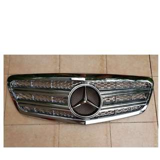 W221 CL Sports style full chrome grill