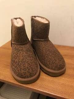 Grace gift 豹紋雪靴