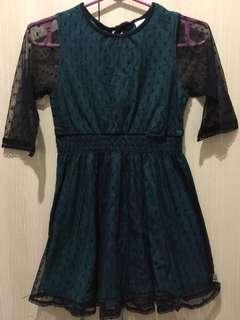 Oshkosh Laced Dress s6-7
