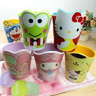 Child Cartoon shape melamine color cup Milk Juice Lemon Mug Coffee Tea Cup Home Office Drinkware Unique Gift