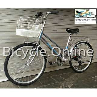 "Sportive 24"" Aluminum Unisex City Bike ✩ Shimano 6 Speeds ✩ Brand new bicycle"