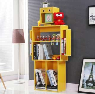 (9 Colours) BN Robot Multifunction Bookshelf Display Unit
