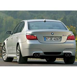 BMW 5 Series E60 M5 Bodykit (without changing the front fenders)