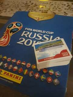 Panini World Cup 2018 Stickers For Sale