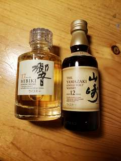 響17 + 山崎12 - 酒辦 50ml x 2