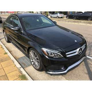 2015年AMG BENZ C300 W205 4MATIC