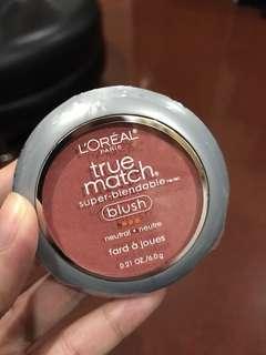 True match blush