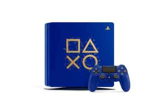 PS4 Days Of Play Limited Edition 500GB Slim Console