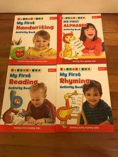Letterland books bundle
