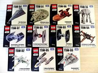 TOMICA Star Wars Die Cast Vehicles