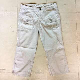 Guess Kids Beige Capri Pants