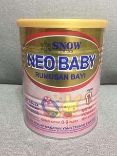 Formula Milk - NEO BABY Step 1 (0-9m)