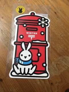日本明信片2015冬季郵筒(包平郵)