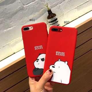 BARE BEAR iPhone CASE