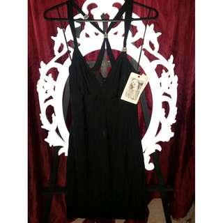 GUESS SHORT BLACK DRESS